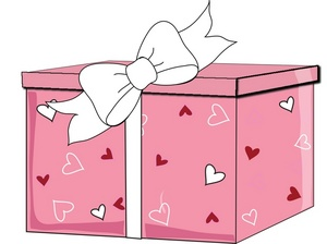 Valentinepresent clipart clipart royalty free download Free Gift Clipart Image 0515-0901-1416-5503   Valentine Clipart clipart royalty free download
