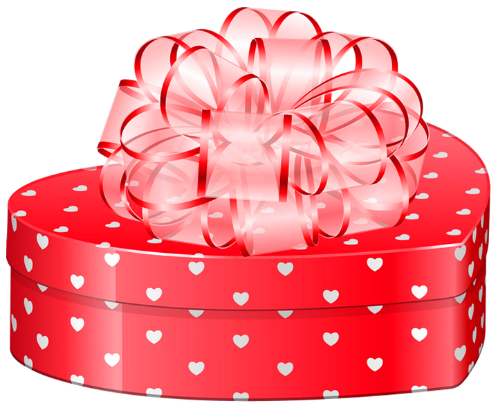 Valentinepresent clipart clipart freeuse stock Valentines Day Heart Gift Box with Bow PNG Clipart Picture ... clipart freeuse stock