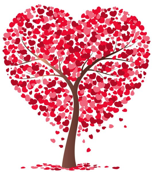 Valentines abc tree clipart banner royalty free library Hanging Hearts Decoration PNG Picture | CLIPART | Pinterest ... banner royalty free library