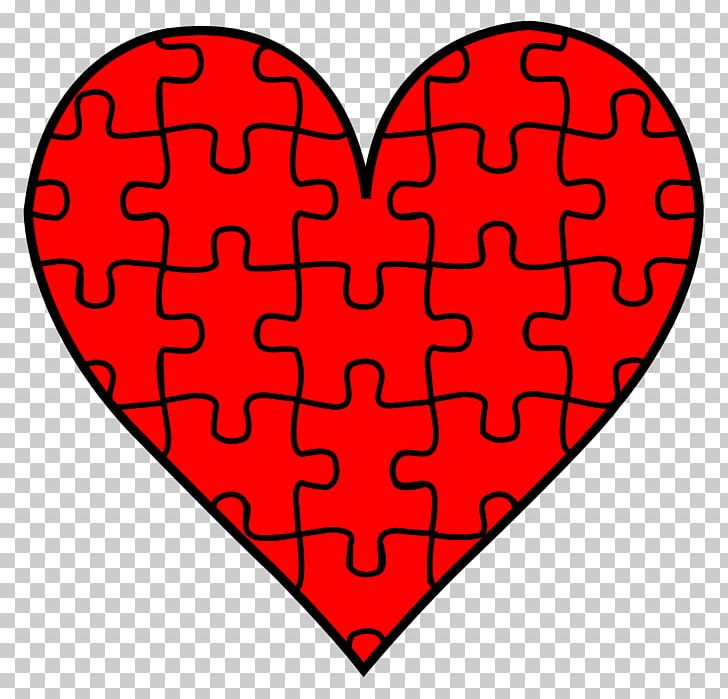 Valentines book clipart graphic royalty free Jigsaw Puzzle Heart Valentines Day PNG, Clipart, Area, Clip ... graphic royalty free