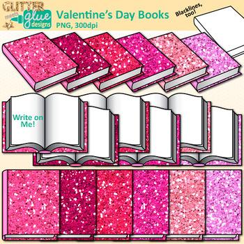 Valentines book clipart clip art free Valentine\'s Day Book Clip Art: Valentines Day Graphics {Glitter Meets Glue} clip art free