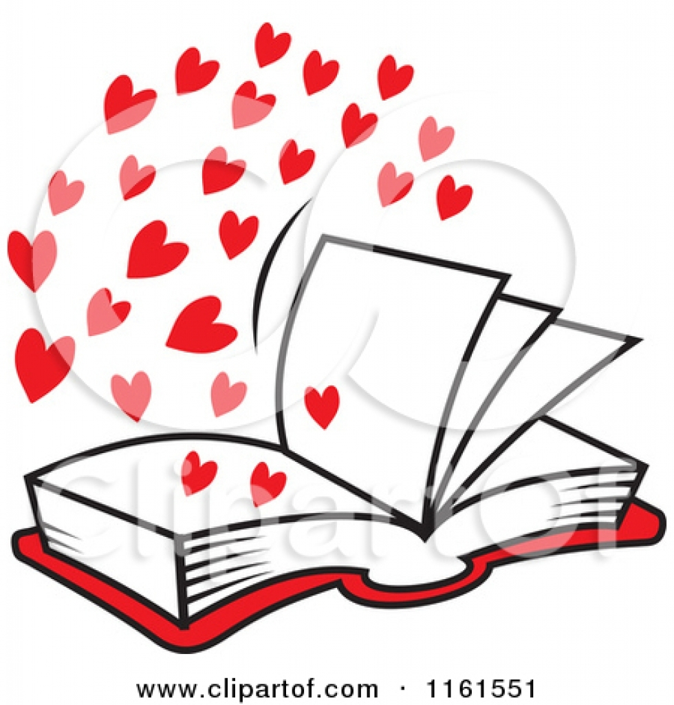 Valentines book clipart jpg stock Heart clip art book - 15 clip arts for free download on EEN 2019 jpg stock