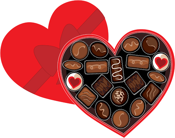 Valentines candy bar clipart banner free stock Yummy Clip Art Of A Chocolate Cake | incentive chart ideas ... banner free stock