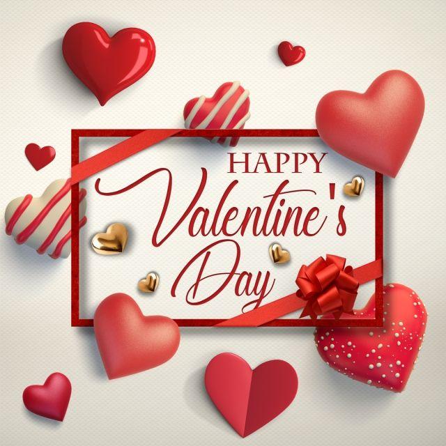 Valentines card design clipart clip Happy Valentines Day, Red Heart Dialog, Tanabata Valentine ... clip