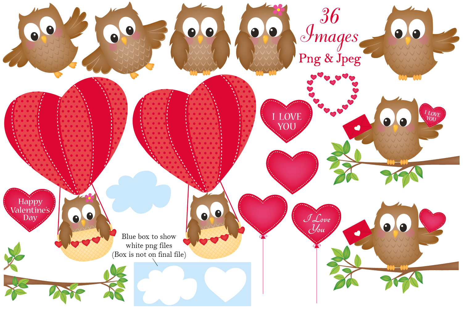 Valentine owls pictures clipart clip royalty free library Valentine clipart, Owls, Valentine graphics & illustrations clip royalty free library