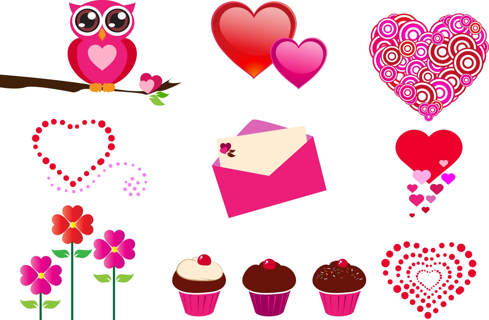 Valentines clipart printable free picture library download Valentines Stuff Clipart - Clipart Kid picture library download