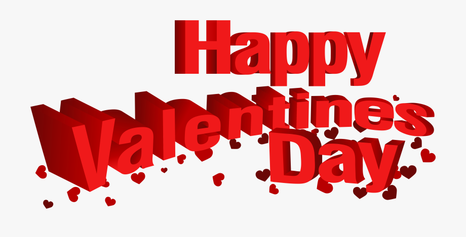 Valentines clipart without background svg free Happy Valentine\'s Day Transparent Png Clip Art Image - Happy ... svg free