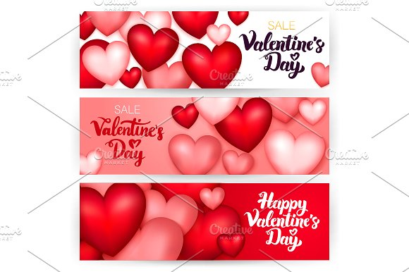 Valentines day banner clipart png freeuse download Valentine\'s Day Banners png freeuse download