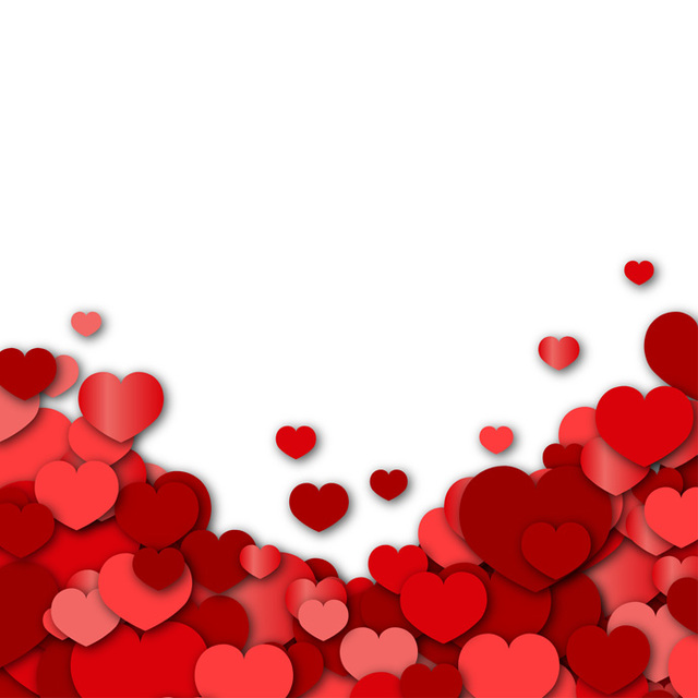 Valentines day clipart background png download Valentines Day Background - Vector Downloa #375334 ... png download