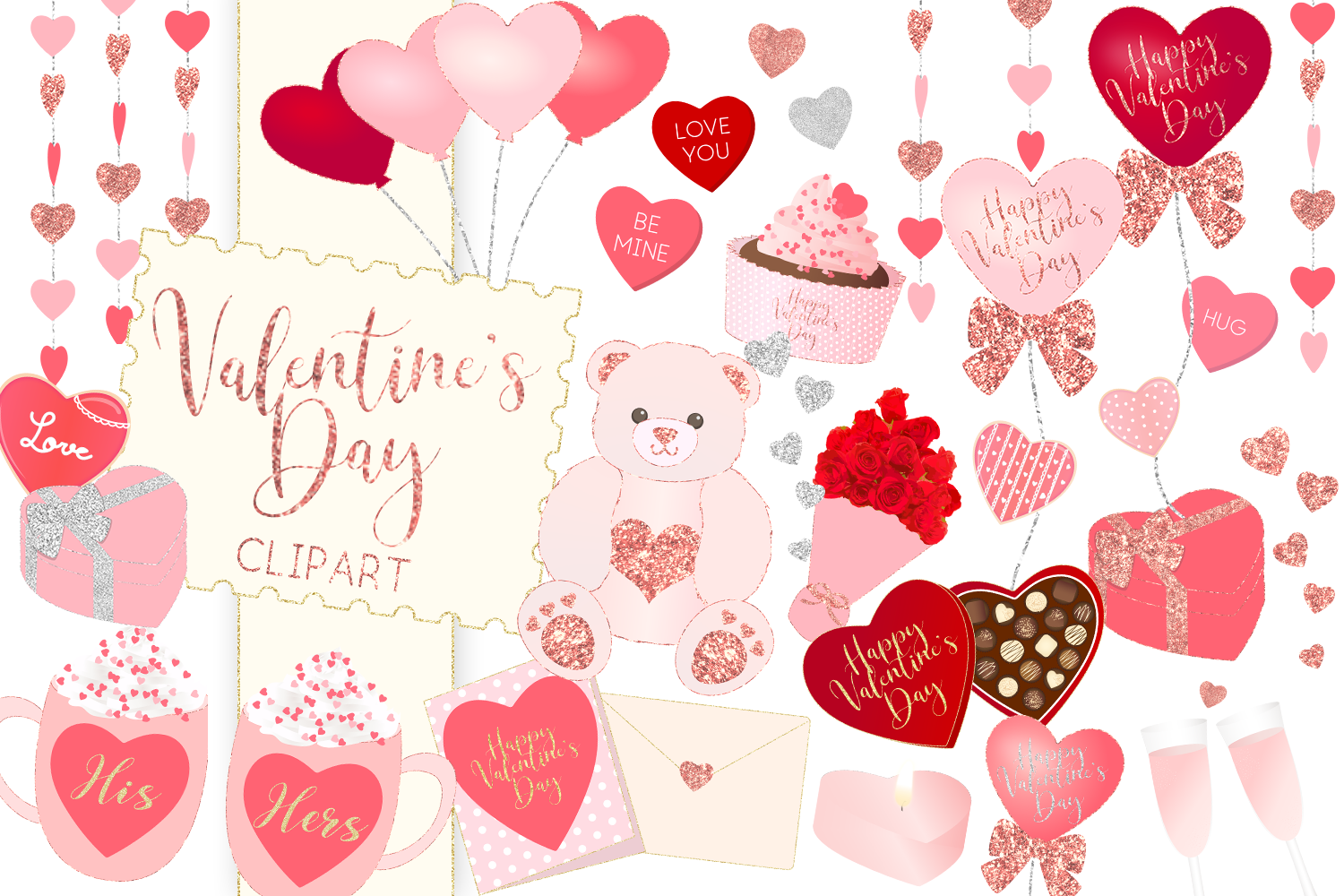 Valentines day clipart background clipart free Valentine\'s Day Clipart clipart free