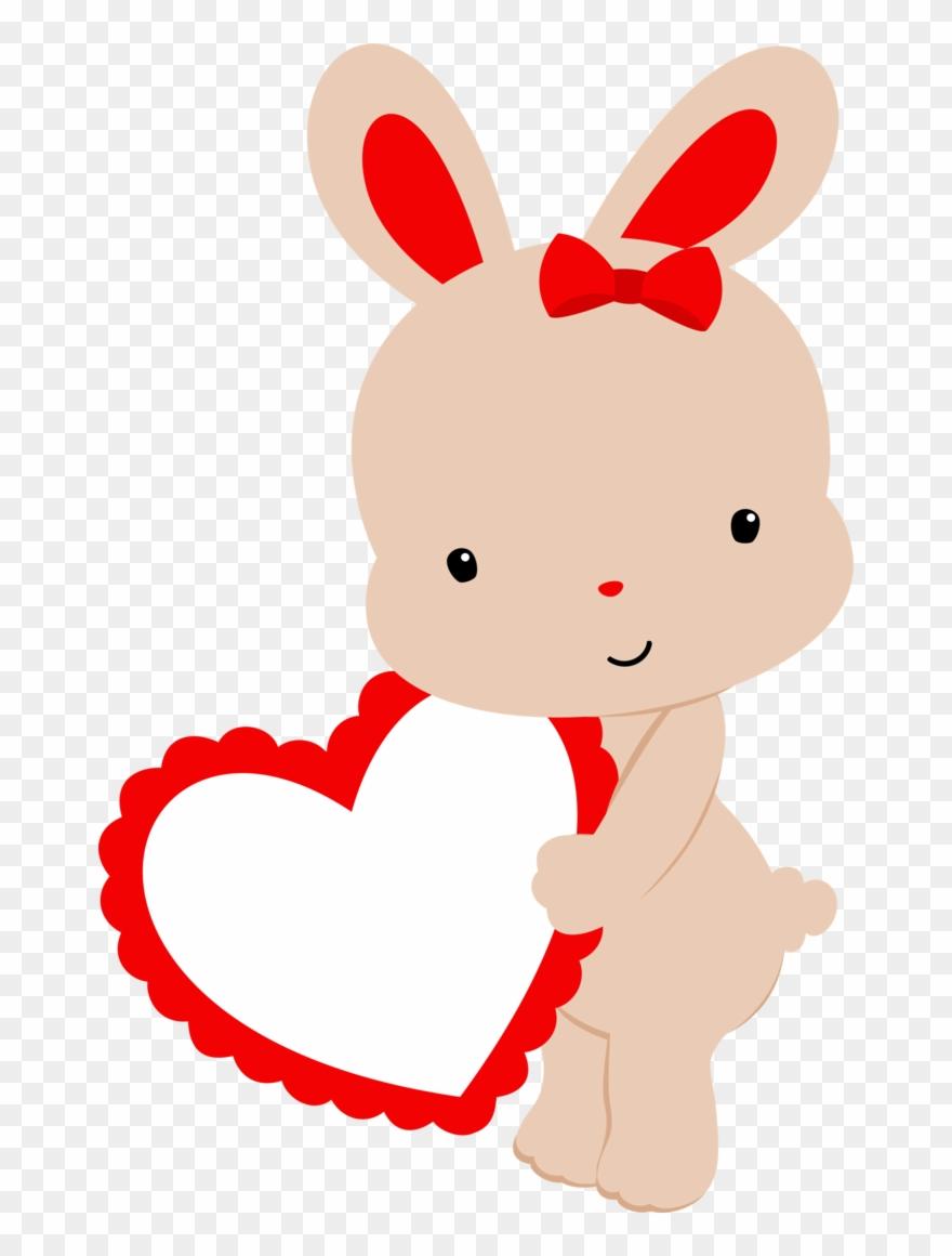 Valentines day clipart bunny clip free download Vorlagen, Basteln, Tasche Scrapbooking, Clipart, Frohe ... clip free download