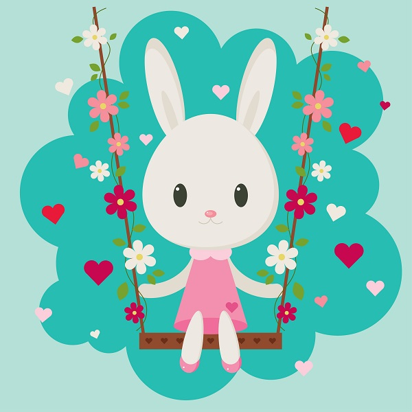 Valentines day clipart bunny png library Create an Easy, Valentine\'s Day Bunny in Adobe Illustrator png library