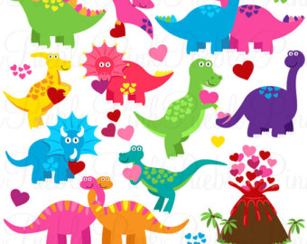 Valentines day clipart dinsosaur clipart freeuse stock Free Valentine Dinosaur Cliparts, Download Free Clip Art ... clipart freeuse stock