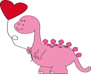 Valentines day clipart dinsosaur image transparent stock VALENTINES DAY Clipart Free Images image transparent stock