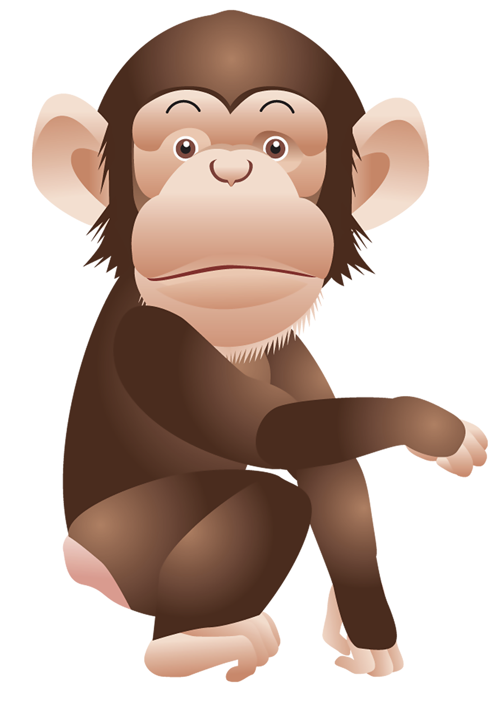 Valentines day clipart monkeys svg free stock Monkey PNG Clipart Picture | Gallery Yopriceville - High ... svg free stock