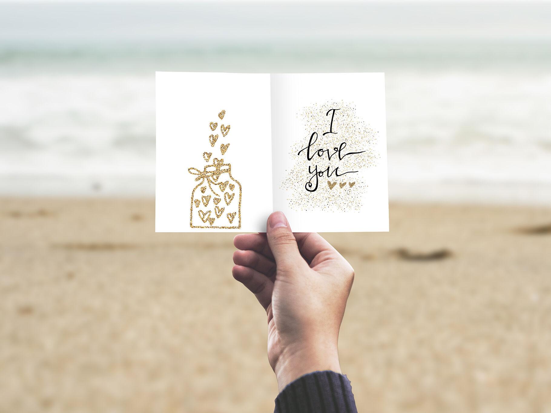 Valentines day clipart ocean
