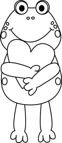 best clip art. Free black and white valentines day clipart