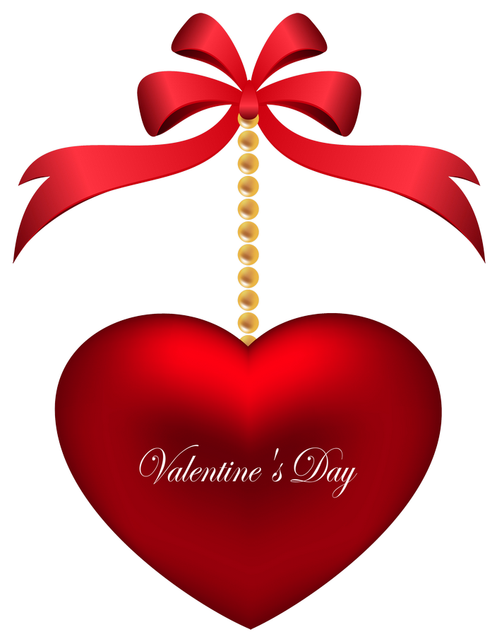 Valentines day clipart transparent hearts svg library download Transparent Valentines Day Deco Heart PNG Picture svg library download
