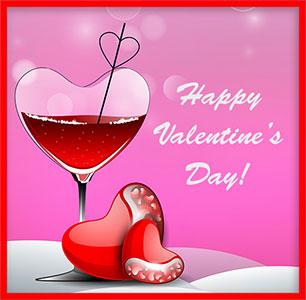 Valentines wine clipart free image free Free Valentine Clipart image free