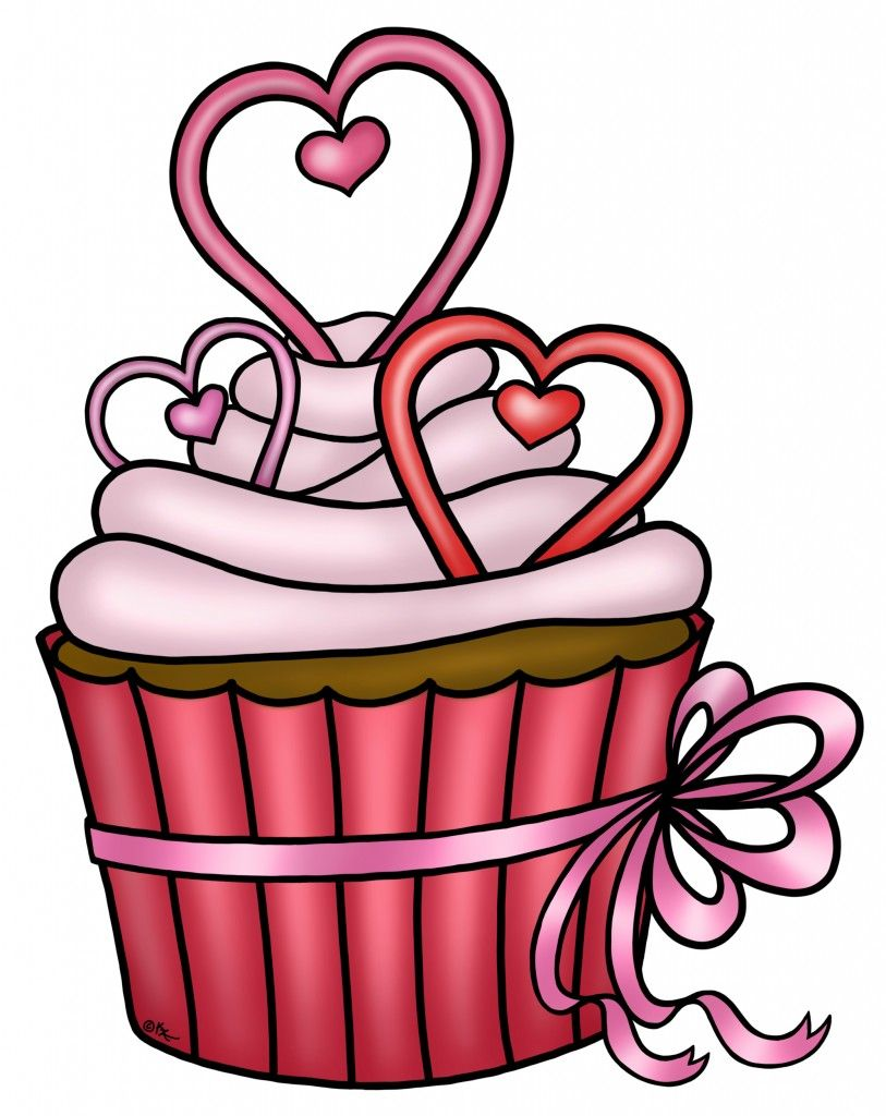 Valentines day cup stencils clipart svg black and white Valentine Cupcake Freebie #29 | images for decoupage, crafts ... svg black and white