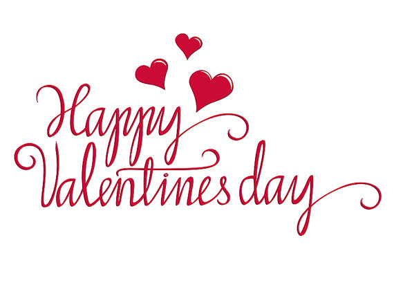 Valentines day cup stencils clipart image royalty free Happy Valentine Script Digital Download Graphic Romantic ... image royalty free