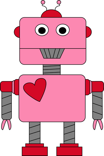 Valentines day cute clipart graphic free stock Robot Valentine\'s Day Clip Art | Valentine\'s | Valentines ... graphic free stock