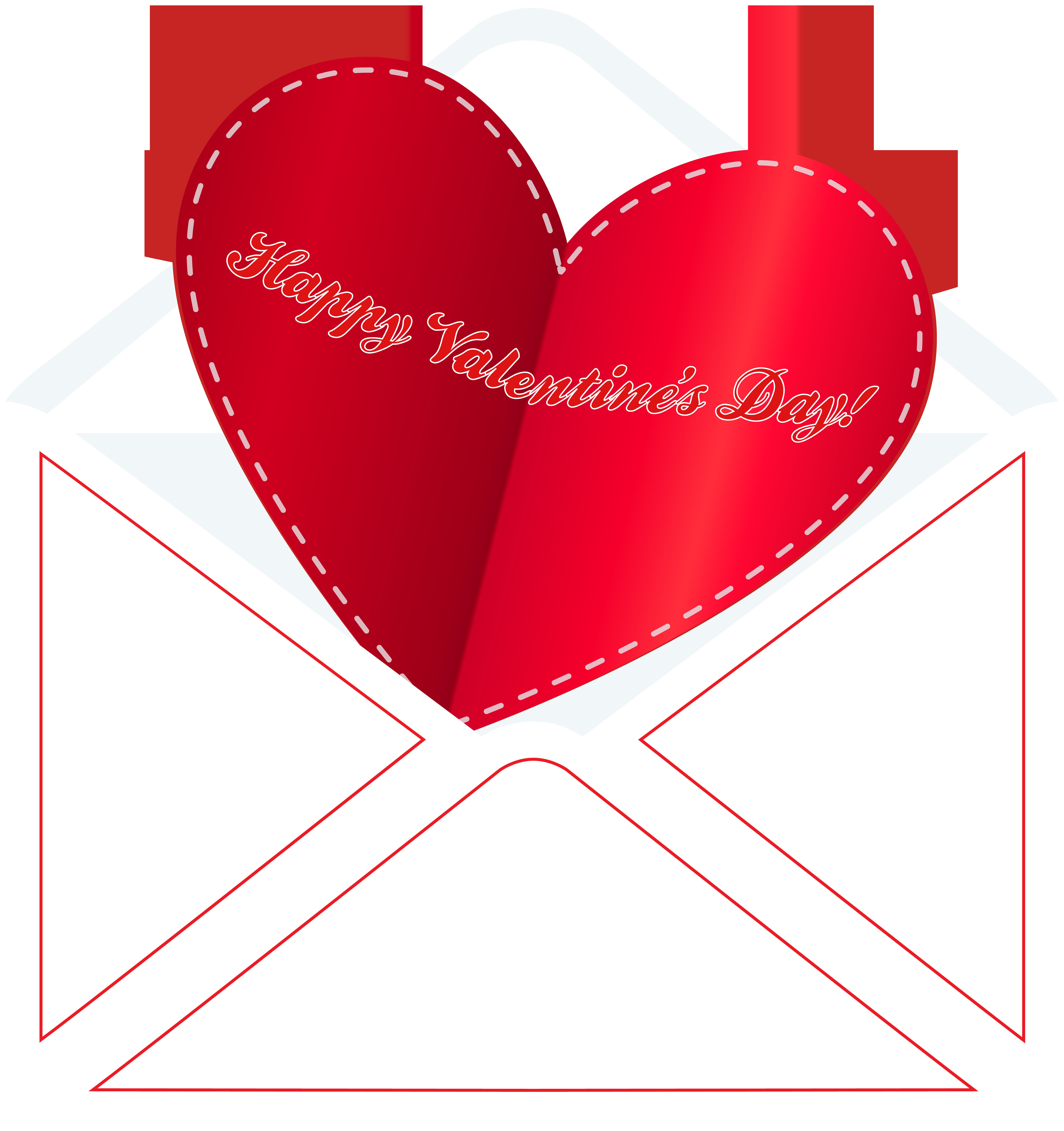 Valentines day envelope clipart transparent stock Happy Valentine\'s Day Envelope PNG Clip Art | Gallery ... transparent stock
