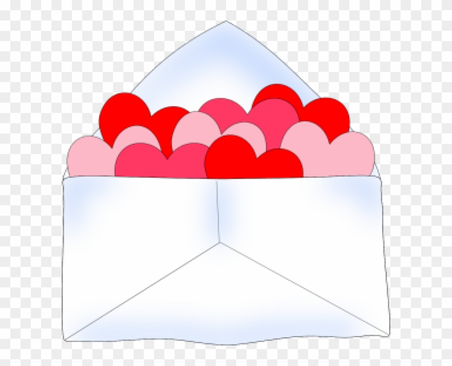 Valentines day envelope clipart picture black and white library Valentines Day Clip - Valentine\'s Day Clip Art - Png ... picture black and white library