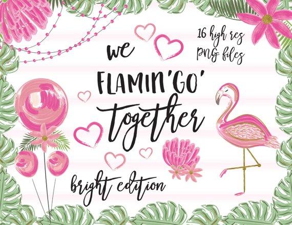 Valentines day flamingo clipart graphic library download Valentine\'s day clipart-valentine-flamingo clipart-love ... graphic library download