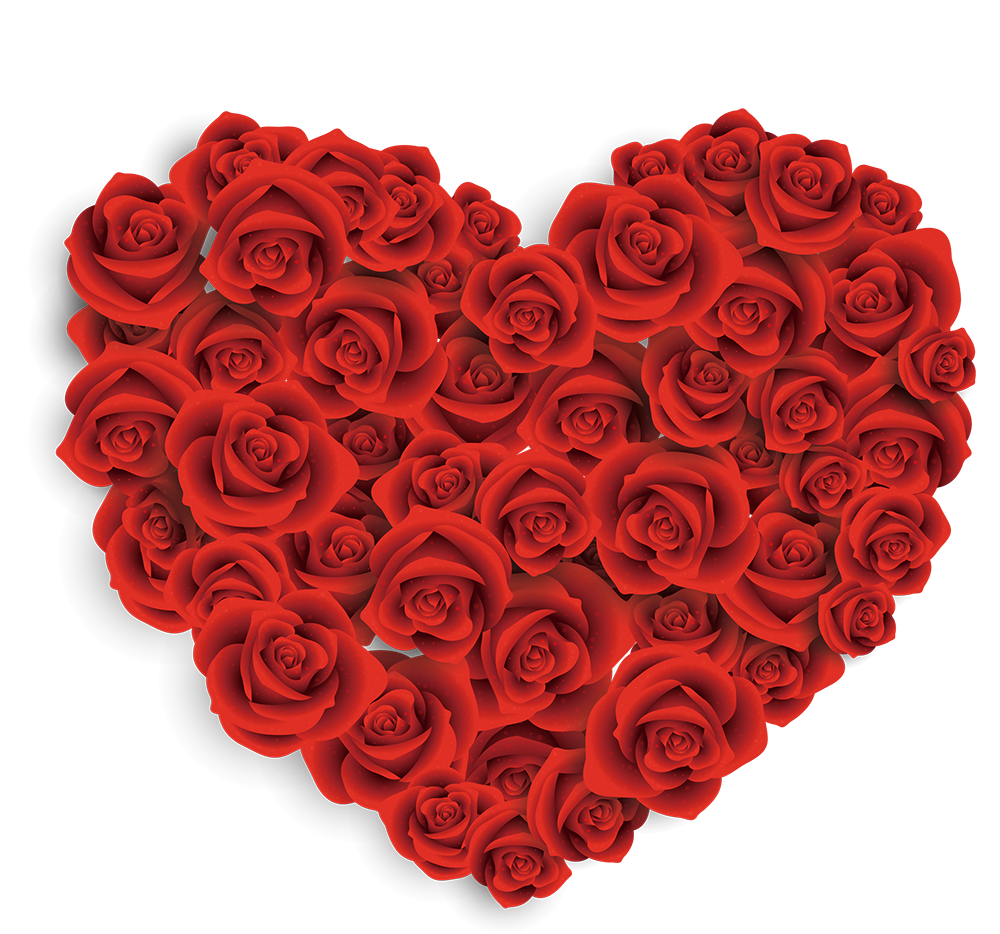 Valentine's day heart clipart banner royalty free Valentines Day Heart Rose Gift Clip art - Rose Heart 1000*934 ... banner royalty free