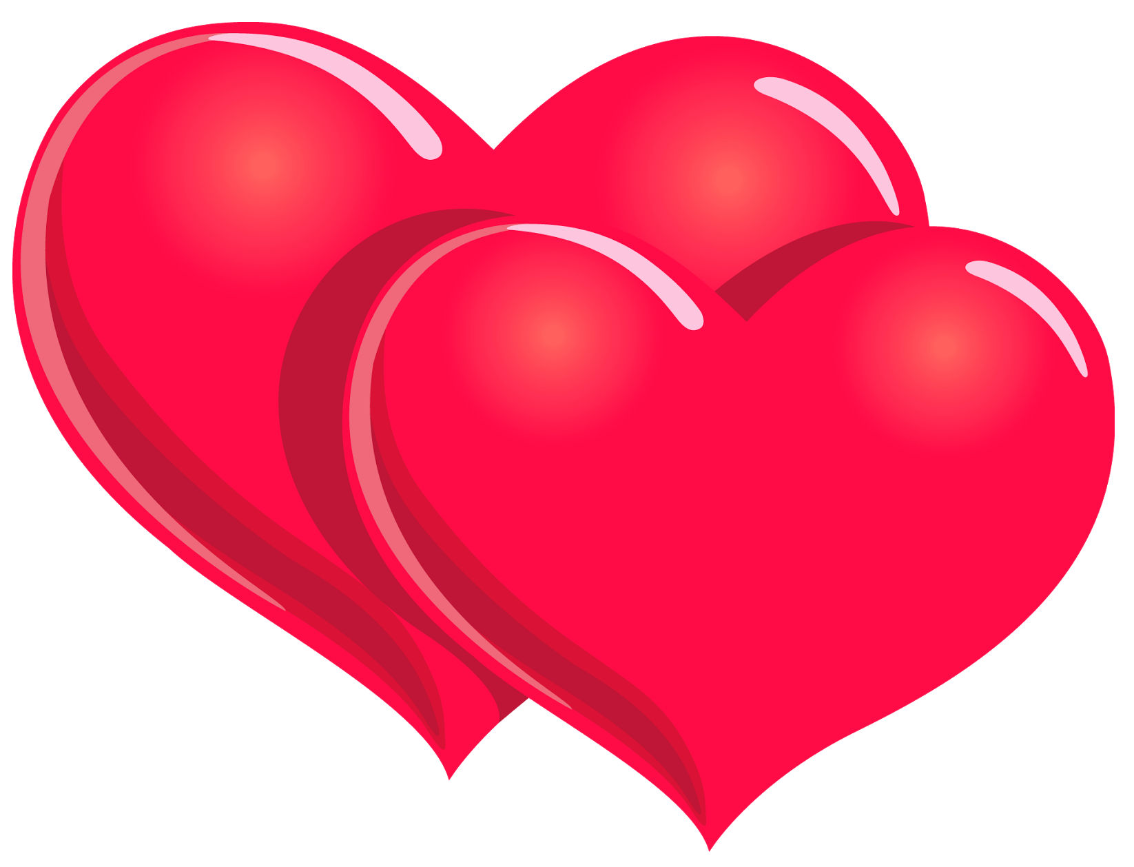 Valentines day hearts clip art picture download Valentines Day PNG Hearts Clipart Picture picture download