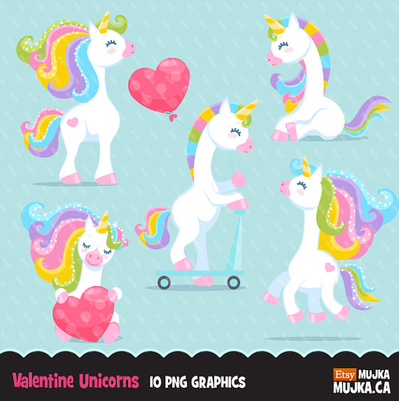 Valentines day horse clipart banner library stock Valentine Unicorn Clipart. Valentine\'s day unicorn graphics ... banner library stock
