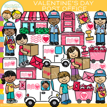 Valentines day office clipart jpg royalty free stock Valentine\'s Day Post Office Clip Art jpg royalty free stock