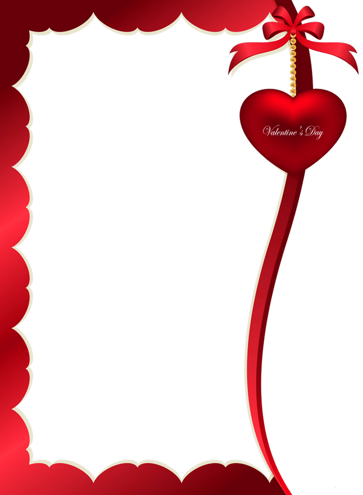 Valentines day photo frame clipart graphic freeuse download Valentines Day Decorative Ornament for Frame PNG Clipart ... graphic freeuse download