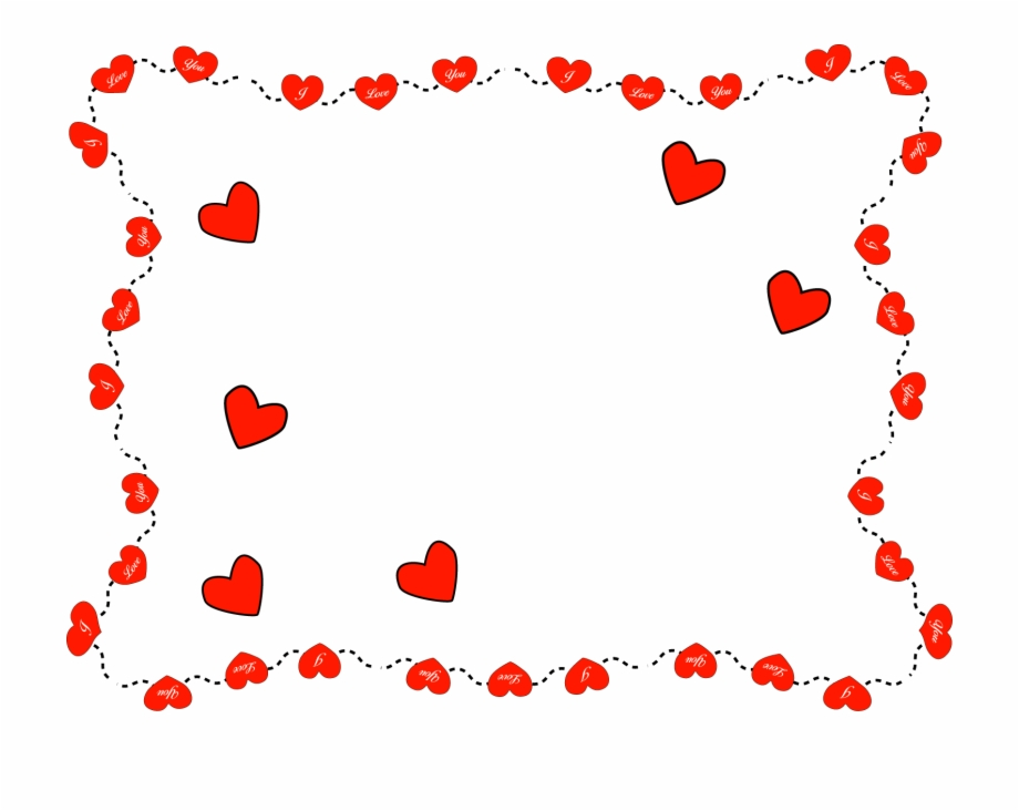 Valentines day photo frame clipart clip art library library Valentines Clip Art 9 Wide Wallpaper - Valentines Day Frame ... clip art library library