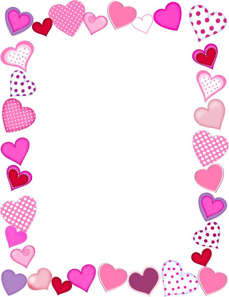 Valentines day photo frame clipart clip black and white 35+ Valentines Day Borders Clip Art | ClipartLook clip black and white