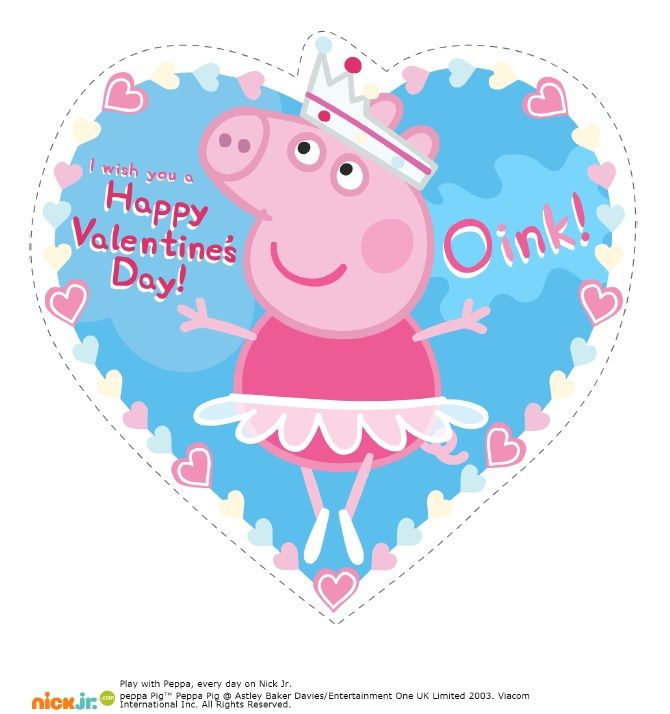 Valentines day pig clipart png black and white Peppa Pig Episodes | Making Friends | Vale #330852 ... png black and white