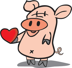 Valentines day pig clipart clipart library stock Free Pig Clipart Image 0527-1605-0509-1946 | Valentine Clipart clipart library stock