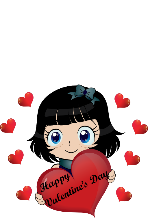 Valentines dog clipart jpg royalty free library Happy Valentine Day Smiley Emoticon Clipart   i2Clipart - Royalty ... jpg royalty free library