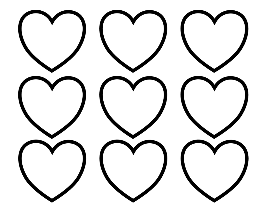 Valentines heart clipart black and white banner black and white download Free Valentine Banners Clipart, 1 page of free to use image ... banner black and white download
