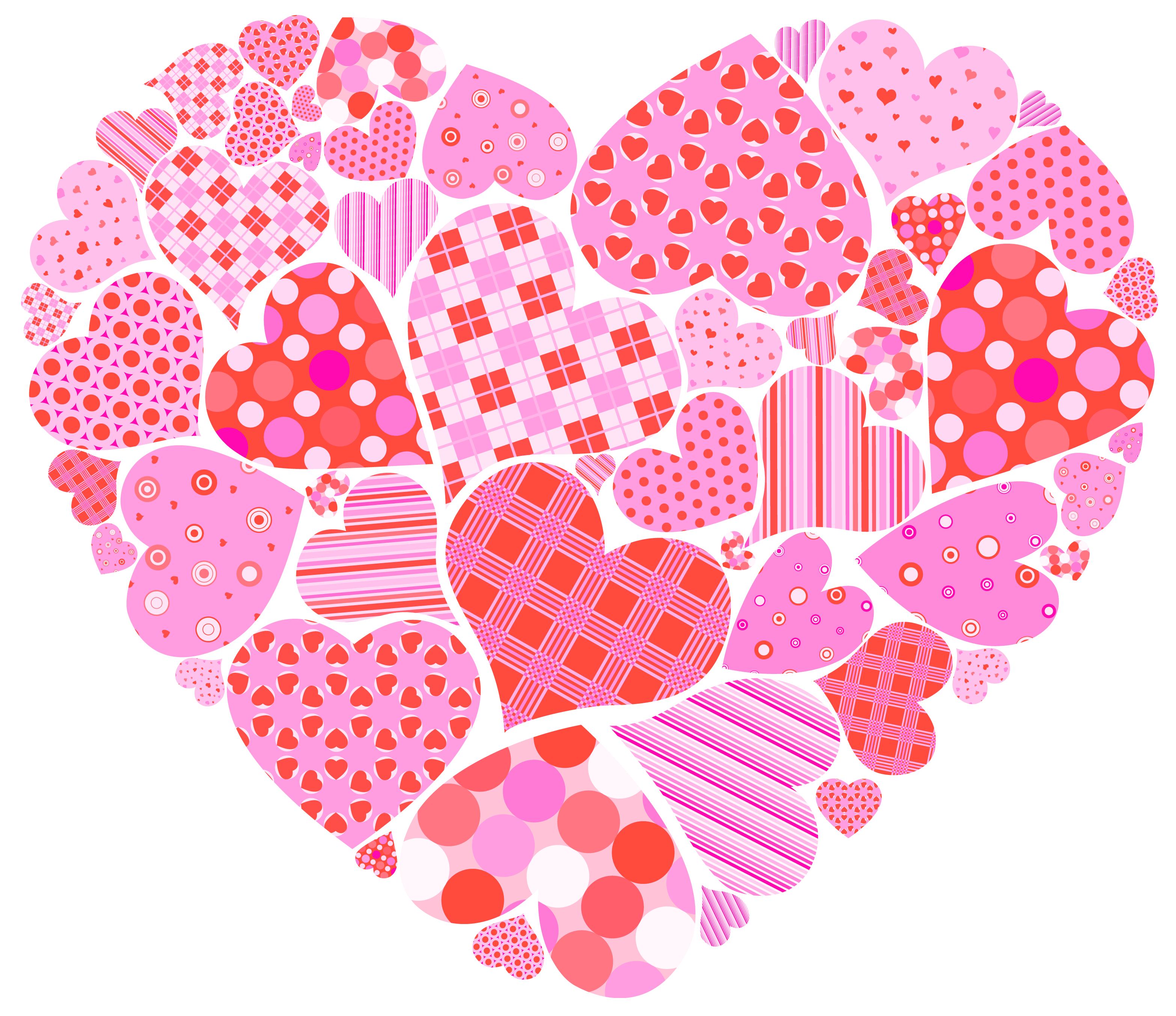 Valentines hearts clip art svg black and white download Valentines Day Hearts Clip Art – Valentine's Day Info svg black and white download
