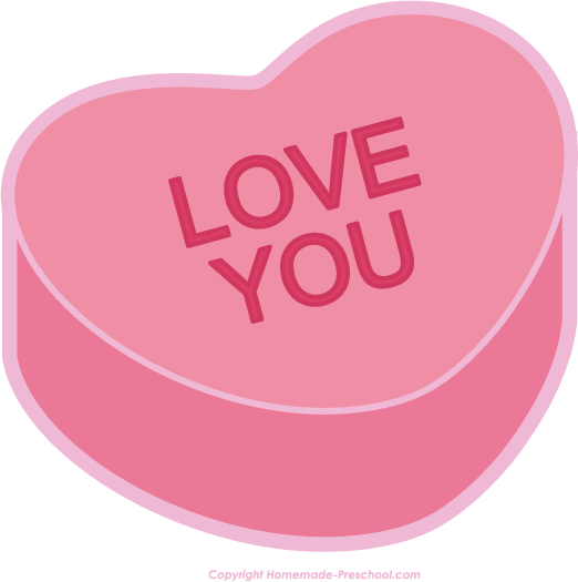 Valentines hearts clipart image transparent stock Free Valentine Heart Clipart image transparent stock