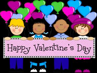 Valentines scene kid clipart image free library Free Giving Valentines Cliparts, Download Free Clip Art ... image free library