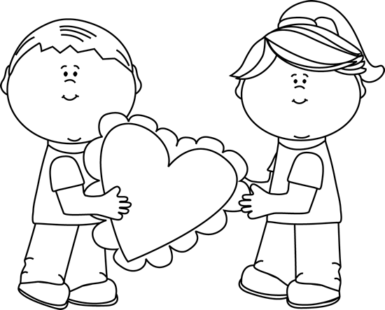 Giving cliparts download clip. Free black and white valentines day clipart