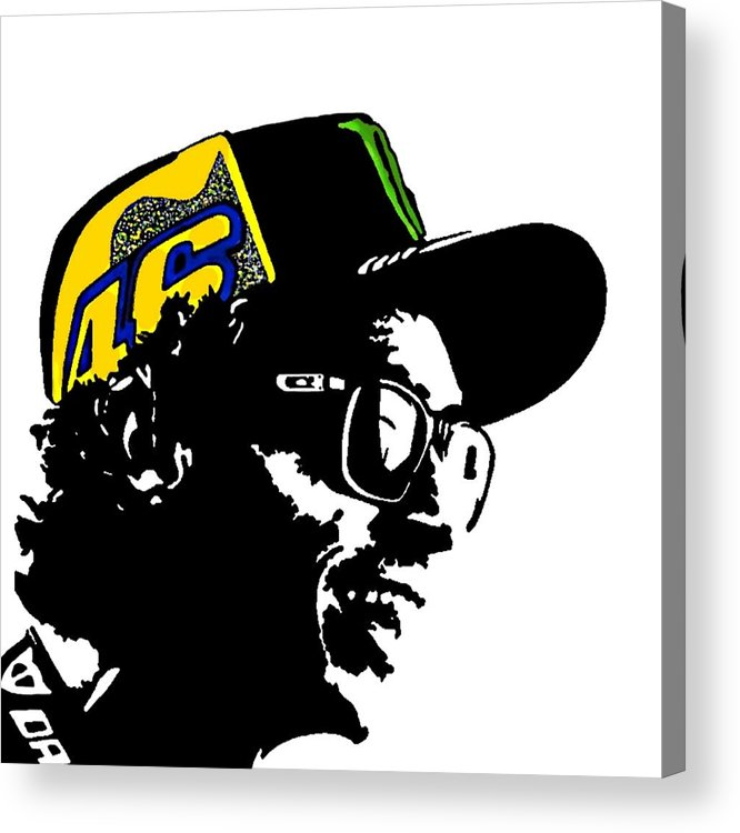 Valentino rossi logo clipart jpg free library 46 Il Dottore Valentino Rossi Dipinto - 46 The Doctor Painting Acrylic Print jpg free library