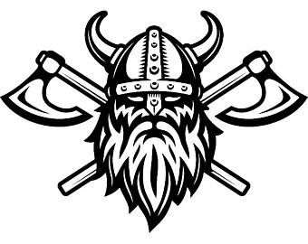 Valhalla clipart svg stock Pin by Steve Lorenzen on Axe and knife stand   Viking logo ... svg stock