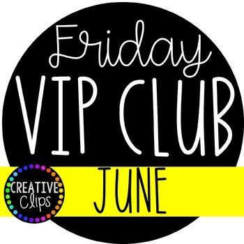 Valued clipart clip free library Friday VIP Club: JUNE ($19.00 Value) {Creative Clips Clipart} clip free library