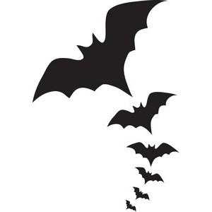 Vampire bat outline clipart graphic royalty free download Bat black and white vampire bat clipart - WikiClipArt graphic royalty free download