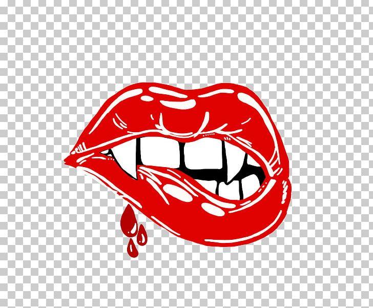 Vampire lip clipart svg black and white stock Vampire Lip Fang Drawing PNG, Clipart, Animal Bite, Area ... svg black and white stock