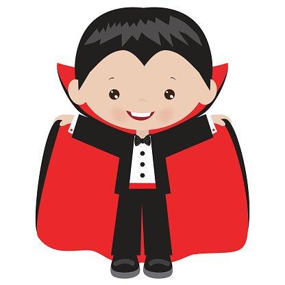 Vampiro clipart jpg royalty free stock Halloween Vampire Boy Vector Cartoon Illustration premium ... jpg royalty free stock